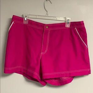 Pink Catalina women's board shorts XL